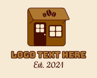 Cafe Americano - Little Coffee Shop logo design