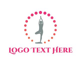 Exercise - Yoga Beads logo design