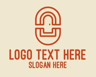 Company - Orange Door Company logo design
