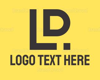 Letter L - L & D logo design