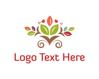 Seed - Floral Bouquet logo design