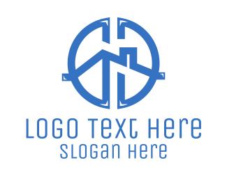 Property - Property Roof Circle logo design