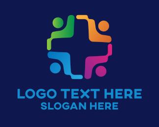 Community - Health Community logo design