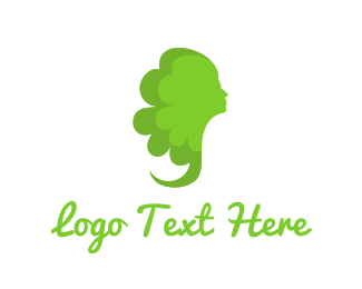 Green Lady Logo
