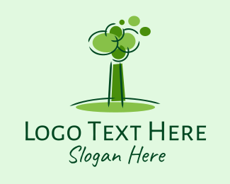 Park - Green Tree Park  logo design