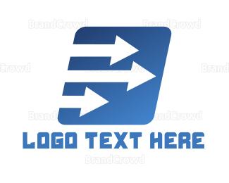 Arrows - White Arrows logo design