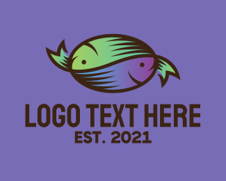 Fisherman - Fish Seafood logo design