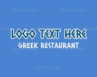 Mykonos - Greek Restaurant logo design
