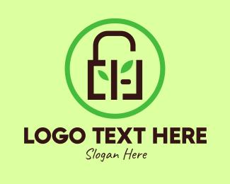 Security - Eco Security Lock  logo design