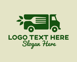 Vegan Food - Vegan Food Truck logo design