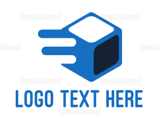 Blocks - Fast Ice Cube logo design
