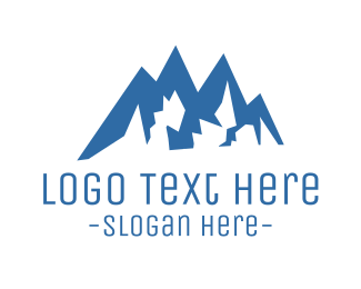 New Zealand - Climbing Mountain logo design