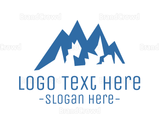 Extreme - Climbing Mountain logo design