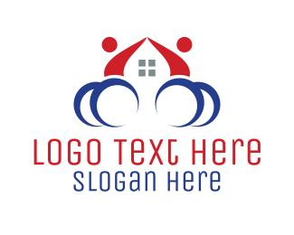 Sprain - Wheelchair House logo design