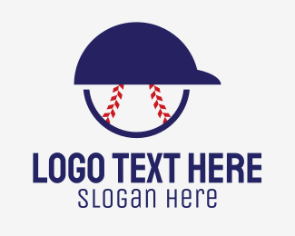Fanclub - Baseball Player Helmet  logo design