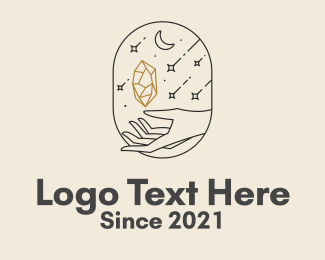 Soul - Aesthetic Diamond Hand logo design