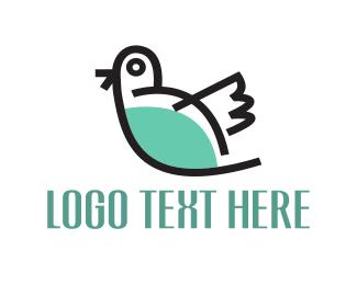 Chick - Little Bird logo design