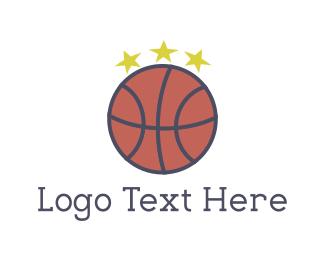 Basketball Star Logo