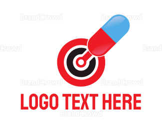 Target - Capsule Target logo design