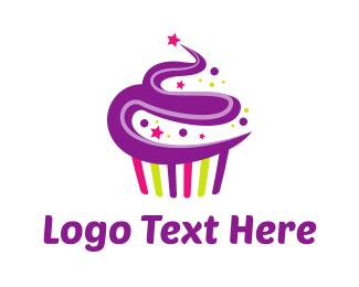 Cake Shop - Muffin Cake logo design