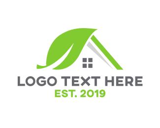 Interior Designer - Nature House logo design
