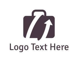 Cargo - Travel Suitcase logo design