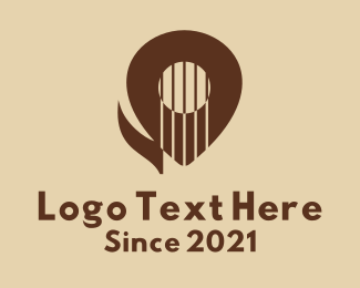 Music Lounge - Guitar Music Destination  logo design