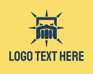Mma - Bulldog Fist Fitness logo design