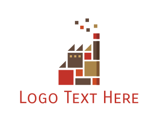 Oil Company - Tile Factory  logo design
