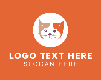 Pet Accessories - Pet Cat Lover logo design