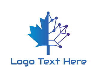 4g - Blue Tech Canada logo design