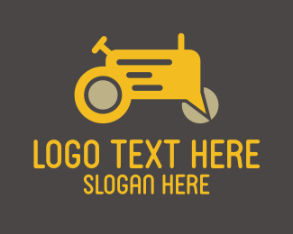 Farm - Farm Tractor Forum logo design