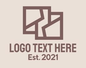 Interior - Brown Interior Designer logo design