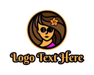 Summer - Vacation Blogger logo design