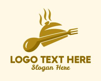 Restaurant - Golden Buffet Restaurant  logo design