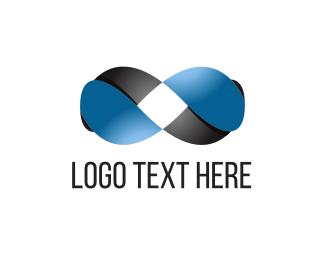 Corporation - Infinity Loop logo design