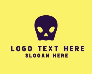 Corps - Ghost Skull logo design