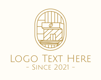 Shop - Minimalist Coffee Shop logo design