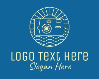 Camera Repair - Vacation Photography Camera logo design