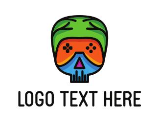 Gamer - Genius Gamer logo design