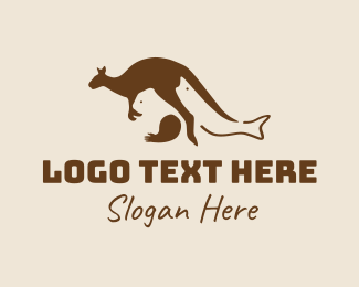 Animal Sanctuary - Australia Wild Animals  logo design