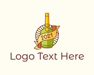 Vintage - Retro Liquor Icon logo design