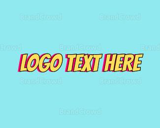 Caricature - Cartoon Wordmark logo design