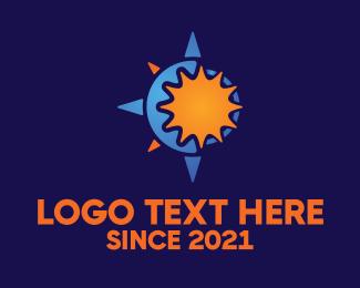 Compass - Solar Compass logo design