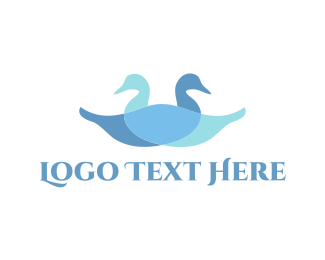 Soap - Two Blue Ducks logo design