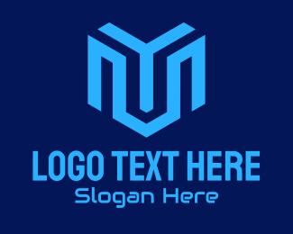 Company - Blue Tech Company logo design