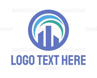 Table - Building Chart logo design