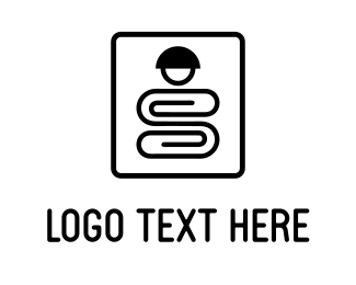 Office Supplies - Clip Character logo design