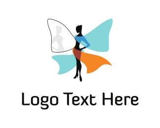 Fairy Tale - Blue Fairy logo design