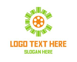 Tv - Center Film logo design